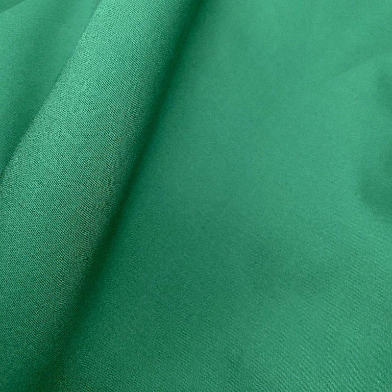 Leaf Green - Stretch Cotton Sateen