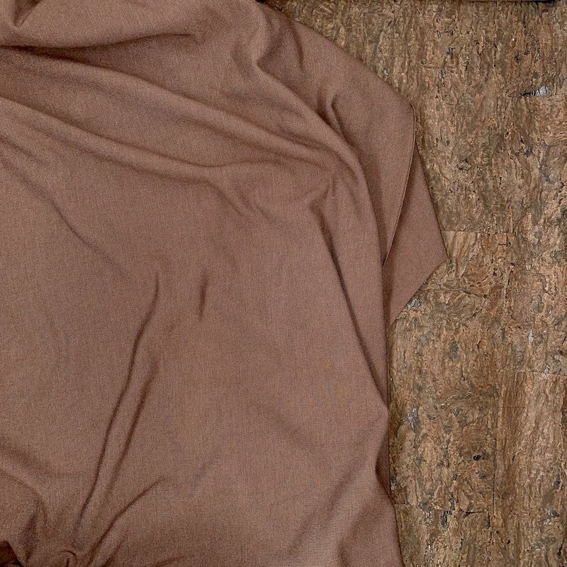 Modal Jersey Knit - 215 gsm - Dark Coffee - Kendor