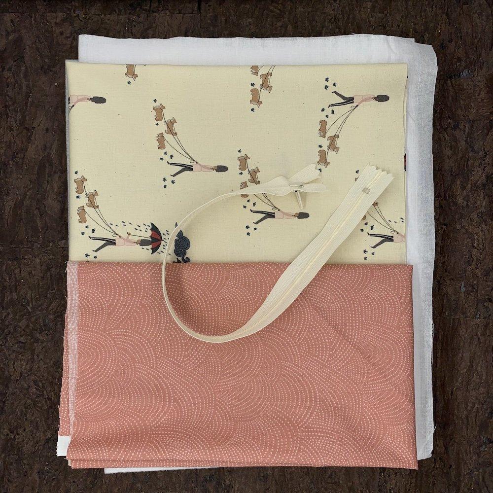 Stitch Box Bag Kit - Rainy Walk