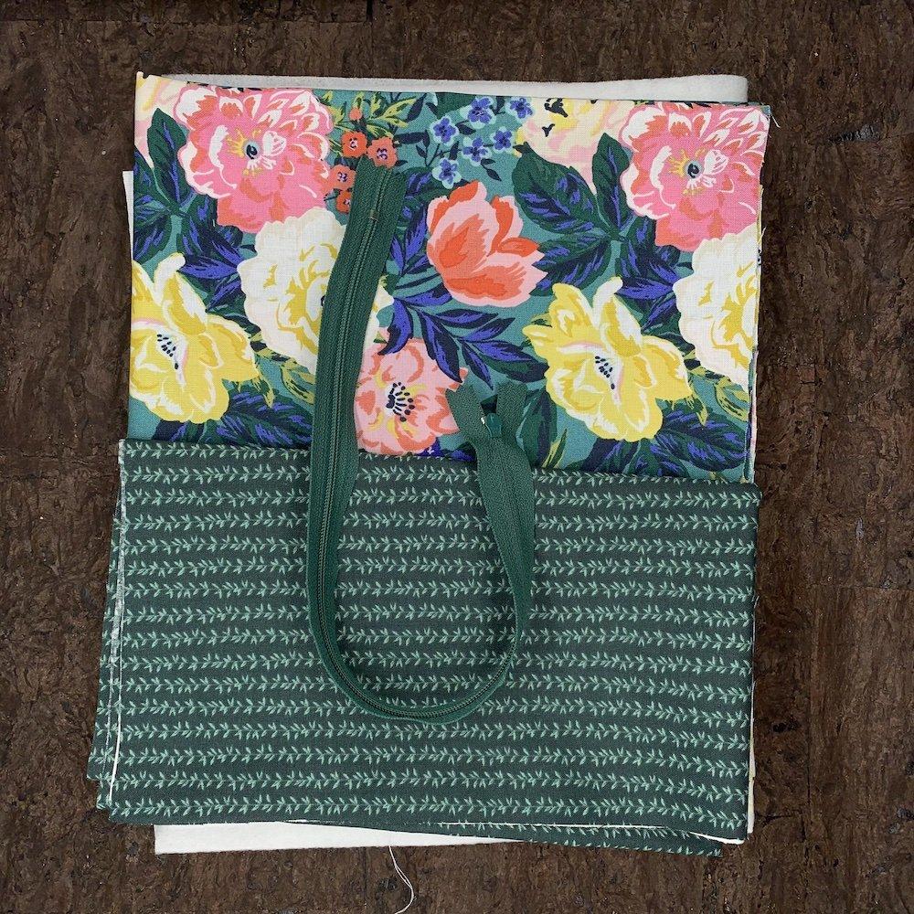 Stitch Box Bag Kit - Bouquet Vines