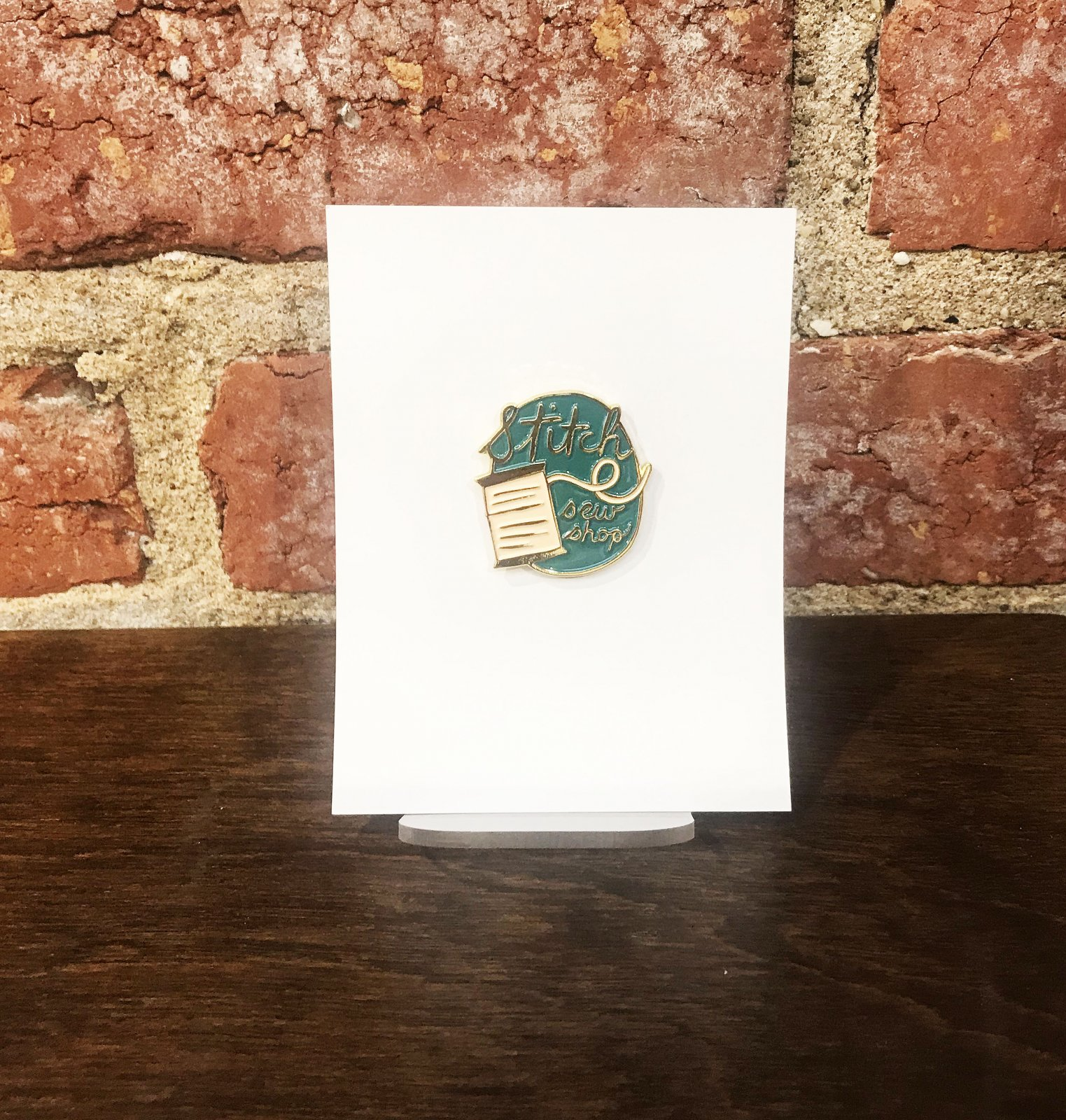 Makers' Mile Enamel Pin 2020