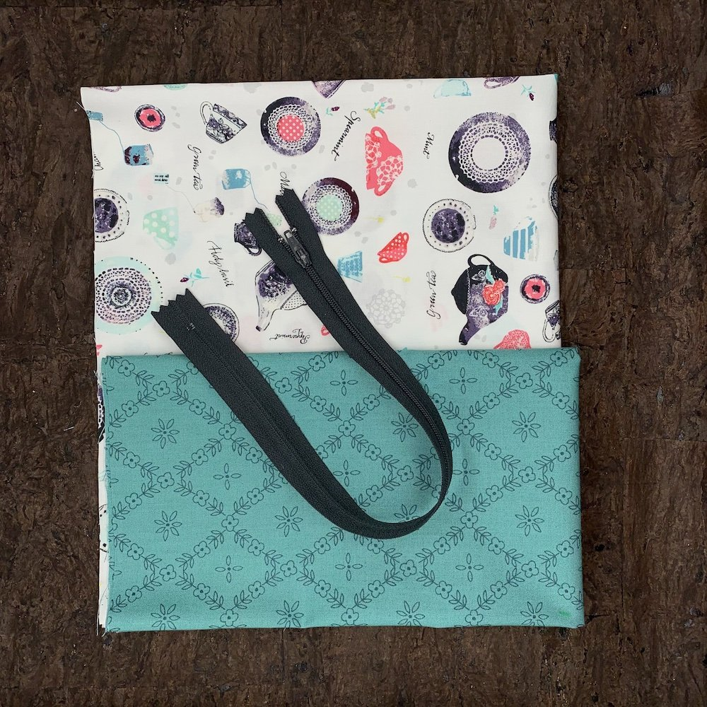 Stitch Box Bag Kit - Tea Time