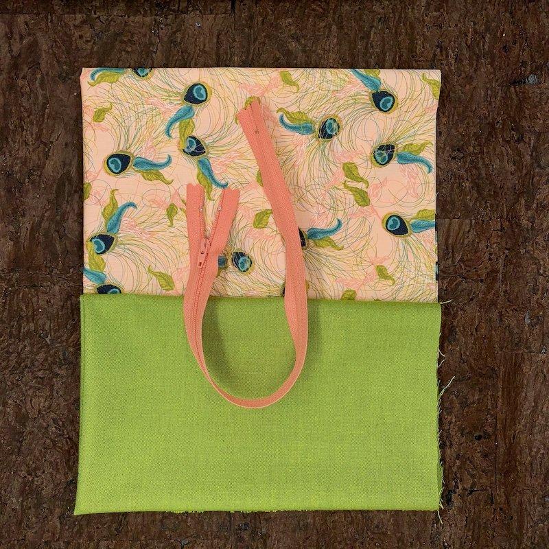 Stitch Box Bag Kit - Peacock Splendor