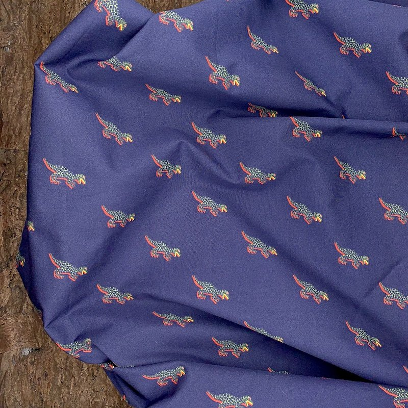 Cotton Shirting - Dinosaurs - Italy