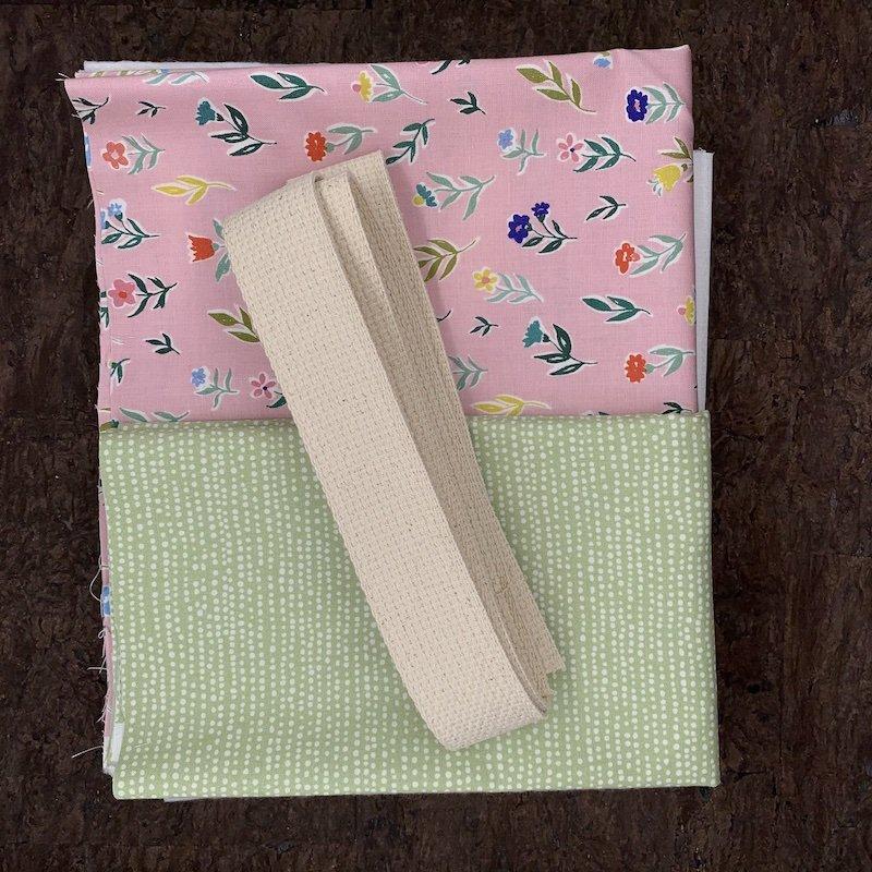 Stitch Tote Bag Kit - Daisy Garden