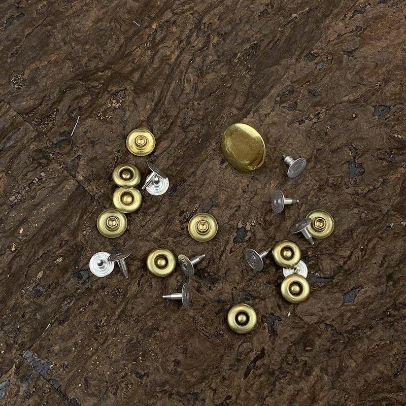 Gold - Jeans Hardware Kit