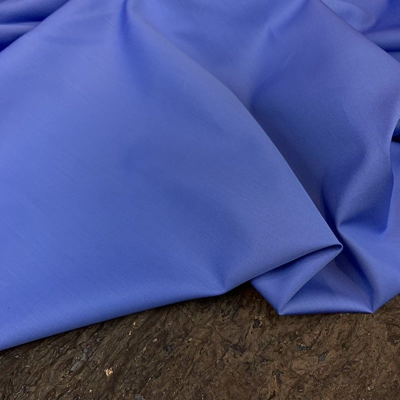 Italian Cotton Shirting - Cone Blue