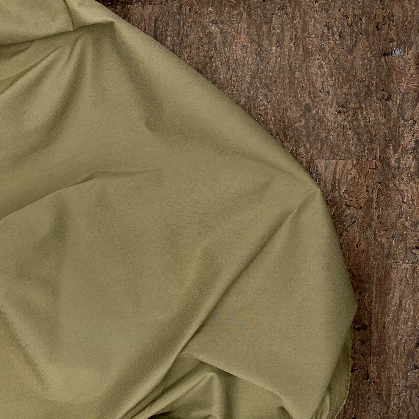 Cotton Shirting - Olive