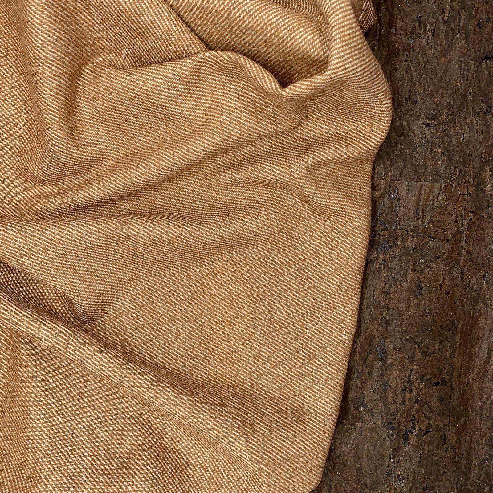 Designer Wool Coating - Sienna Twill
