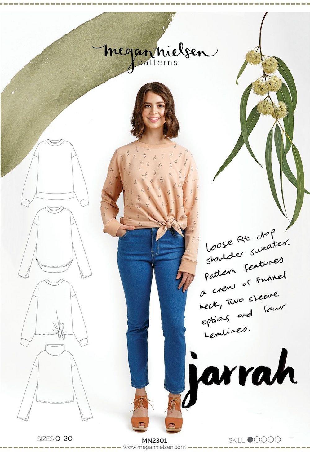 Jarrah Sweatshirt - Megan Nielsen
