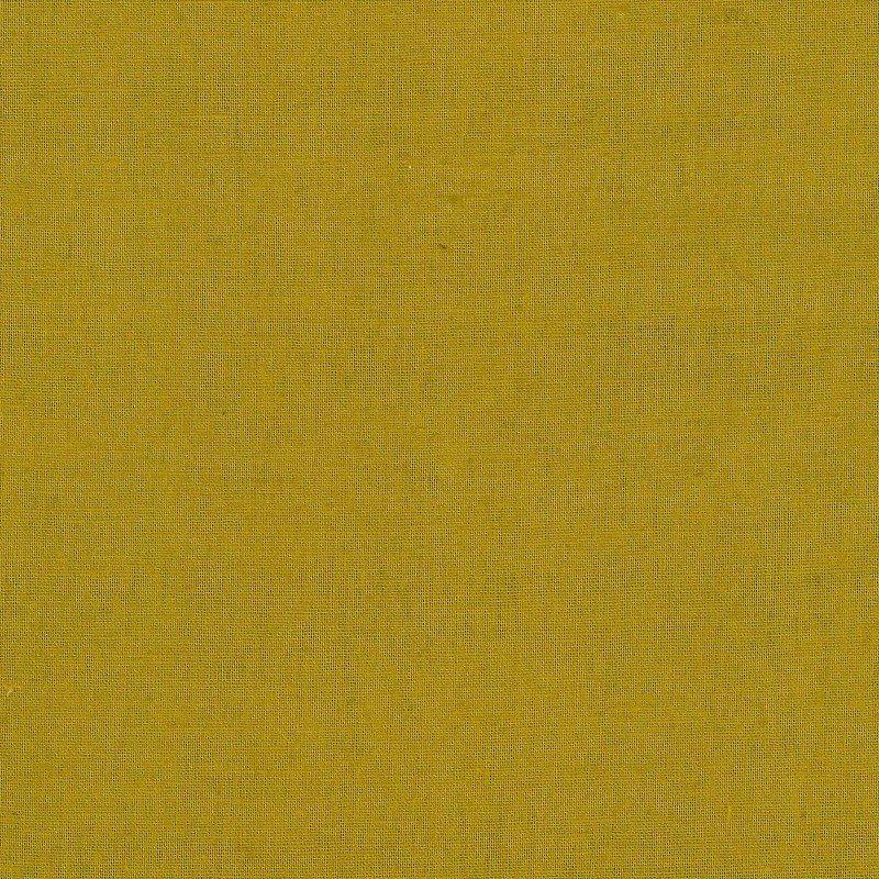 Golden Olive - Cotton/Linen Sheeting - Kokka