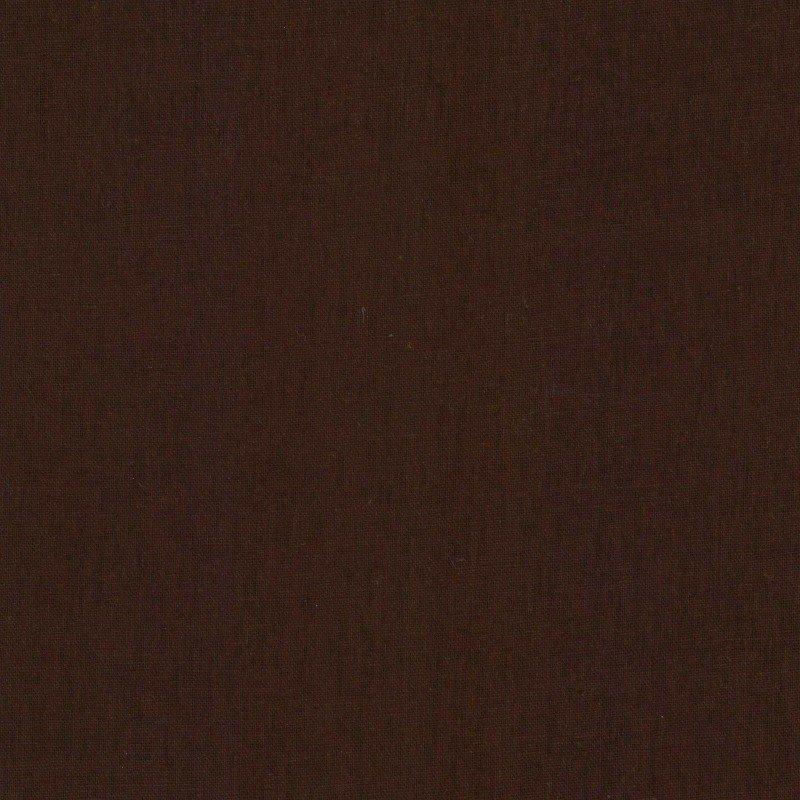 Cotton/Linen Sheeting - Cocoa - Kokka