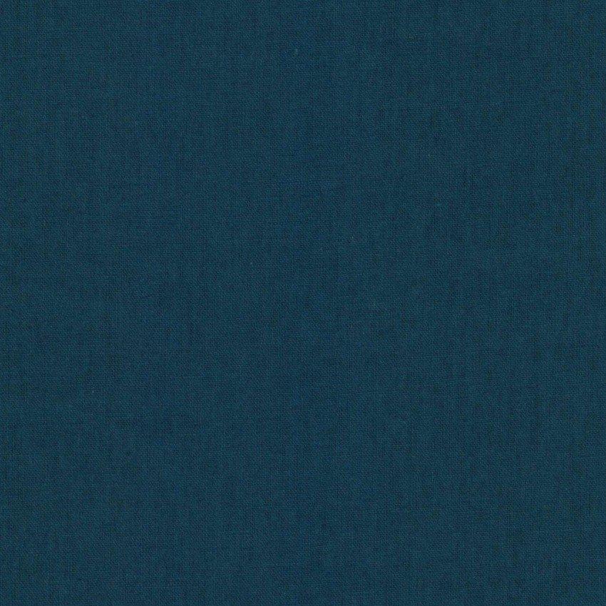 Petrol - Cotton/Linen Sheeting - Kokka