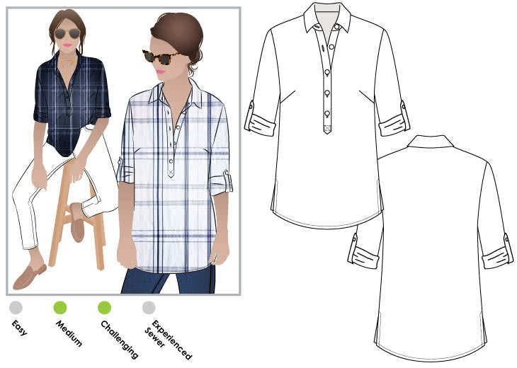 Lennie Shirt - Style Arc
