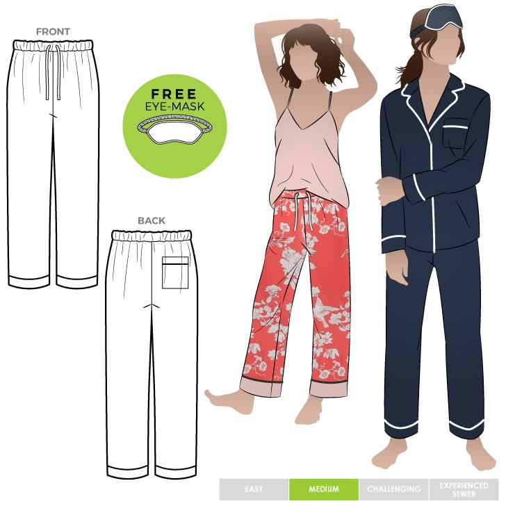 Loungewear  PJ Pants - Style Arc