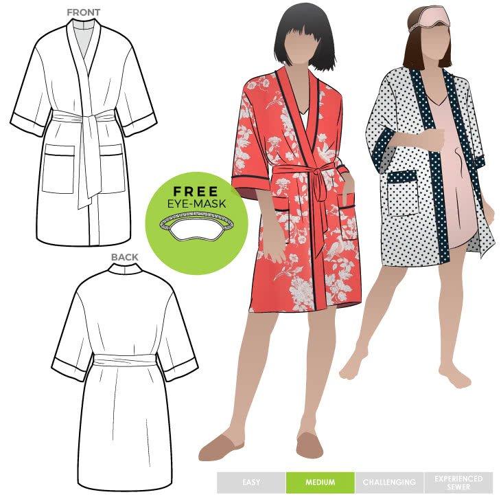 Loungewear Robe - Style Arc