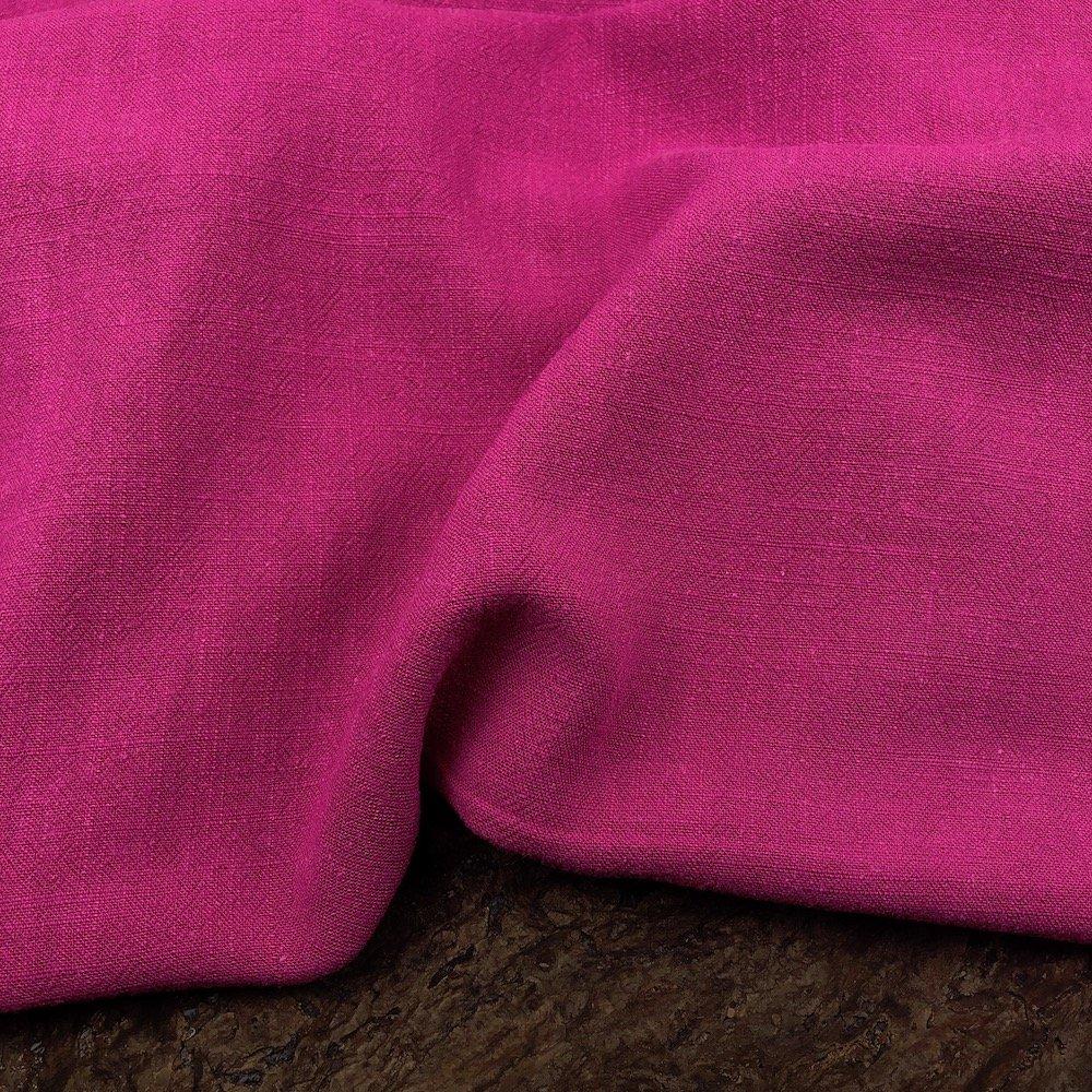 Magenta - Viscose Linen Silky Noil - Telio & Cie