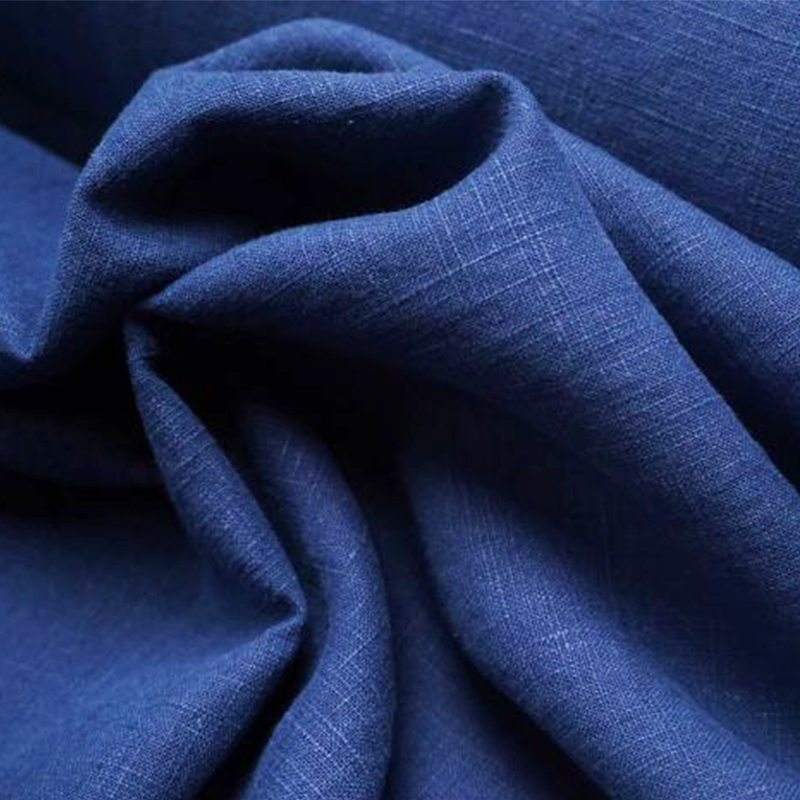 Washed Linen Chambray - Marine Blue - Lady McElroy