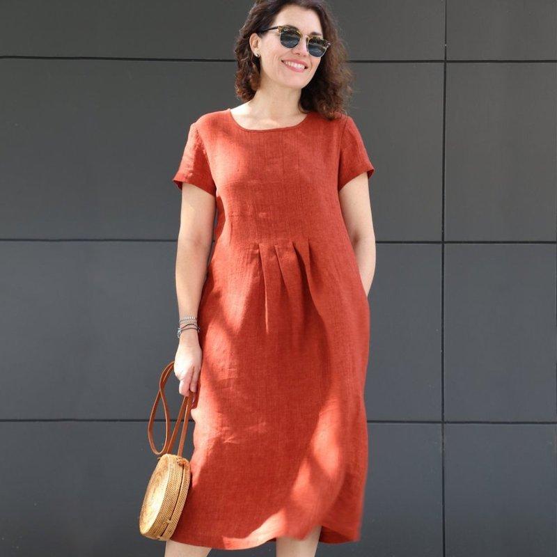 Milenda Dress - Tessuti Patterns