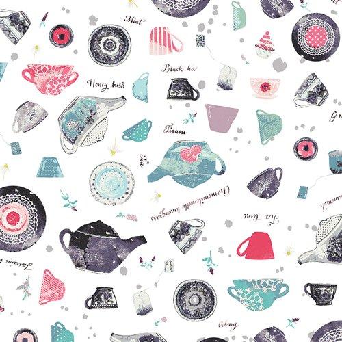 Wonderland - Mint-tea Condition - Art Gallery Cotton