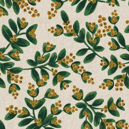 Holiday Classics Canvas - Mistletoe Natural - Rifle Paper Co.