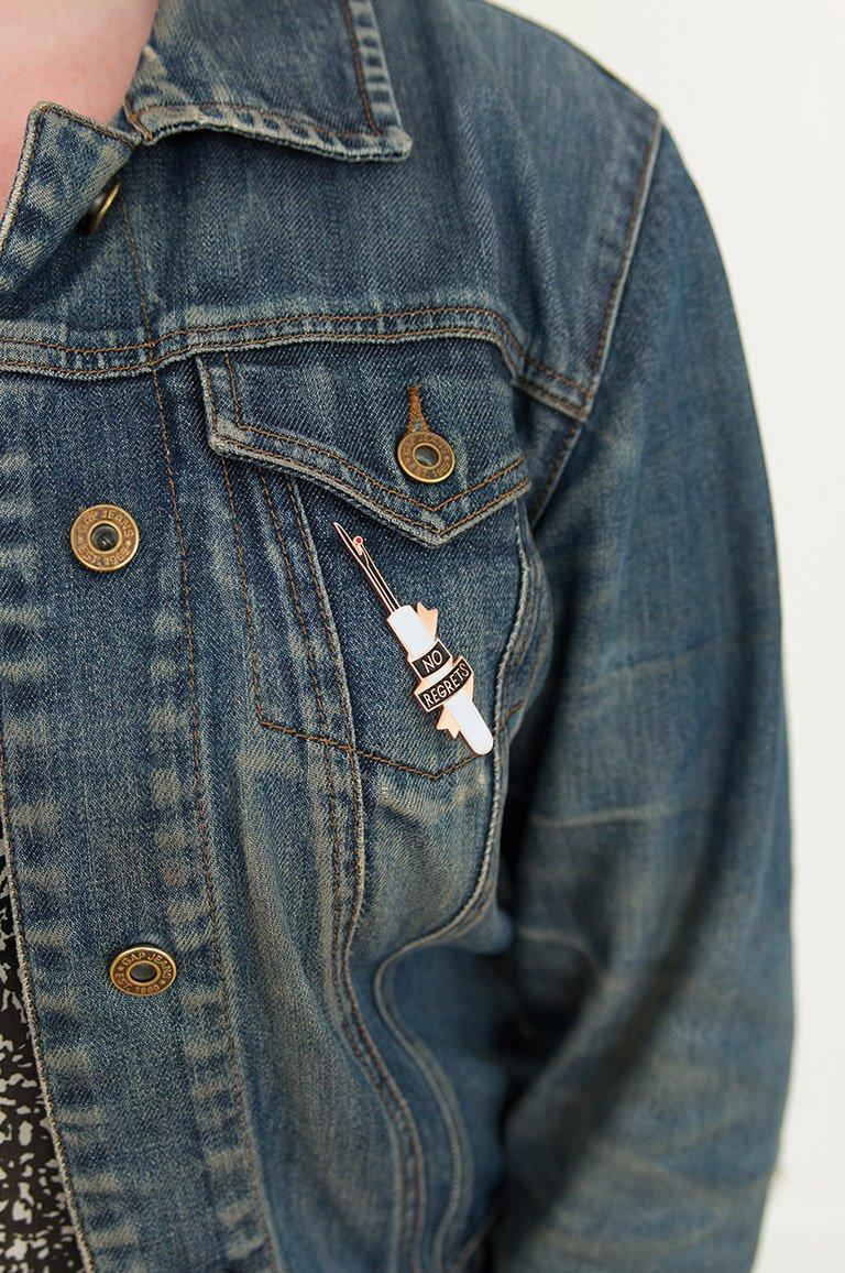 No Regrets - Colette Pins
