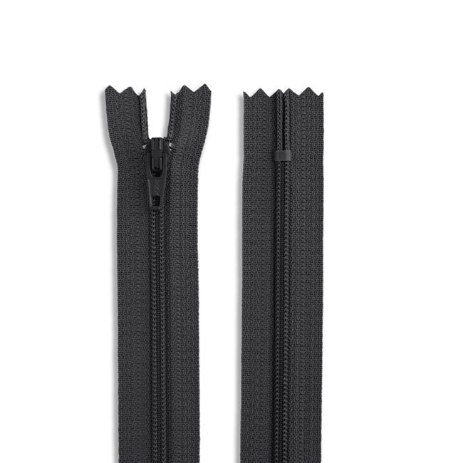 Zipper - Nylon Coil (multiple colors and sizes available)