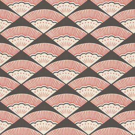 Ougi Coral - Kibori Cotton - Cotton + Steel