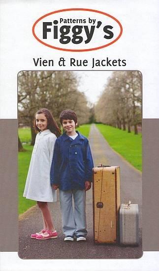 Vien & Rue Jackets - Patterns by Figgy's