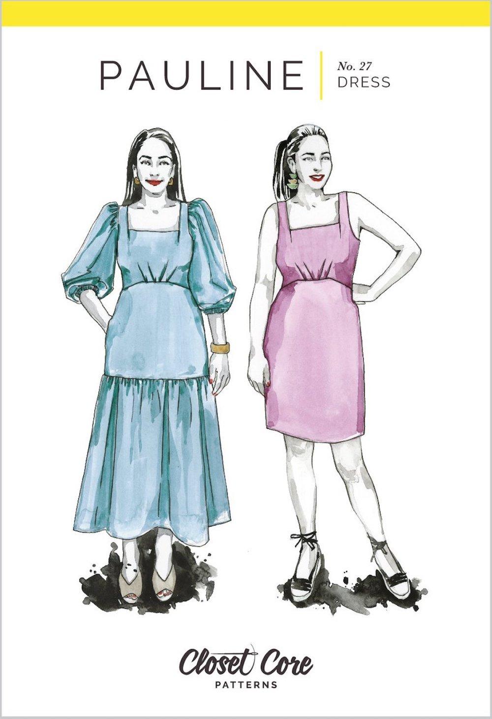 Pauline Dress - Closet Core Patterns