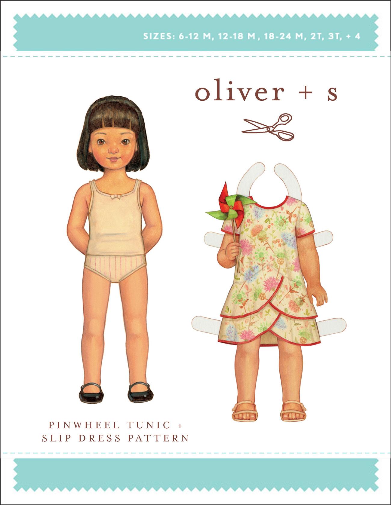 Pinwheel Tunic & Slip Dress - Oliver + S