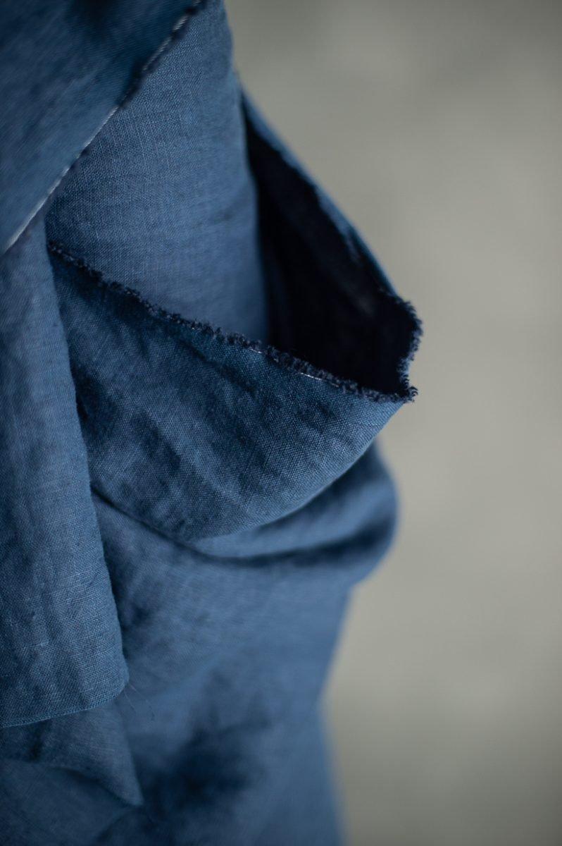 European Laundered Linen - Goodnight Navy - Merchant & Mills