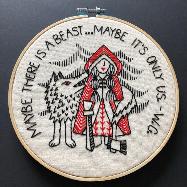 Red Riding Hood - Hook, Line & Tinker Embroidery Kit