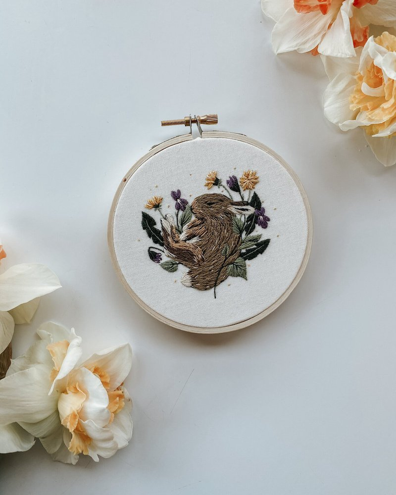 Rest & Renewal - Harvest Goods Co. Embroidery Kits