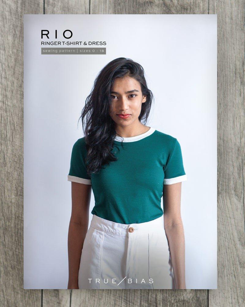 Rio Ringer T-Shirt & Dress - True Bias