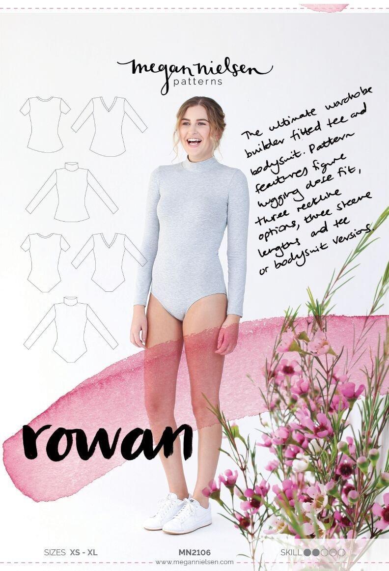 Rowan Bodysuit & Tee - Megan Nielsen