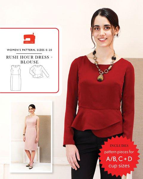 Rush Hour Dress & Blouse - Liesl & Co.