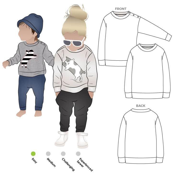 Sammi Sweatshirt - Style Arc Childrens