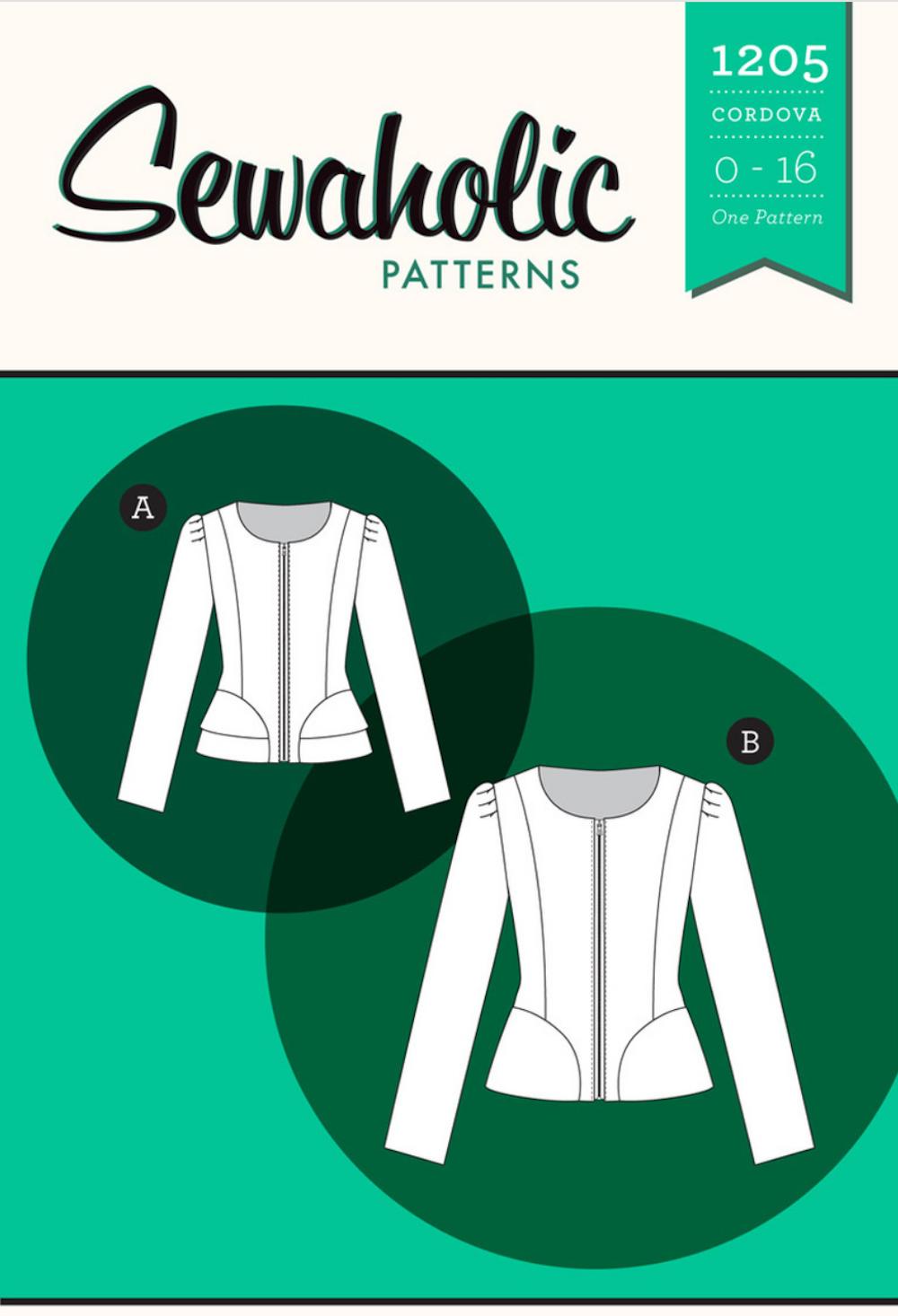 Cordova Jacket - Sewaholic