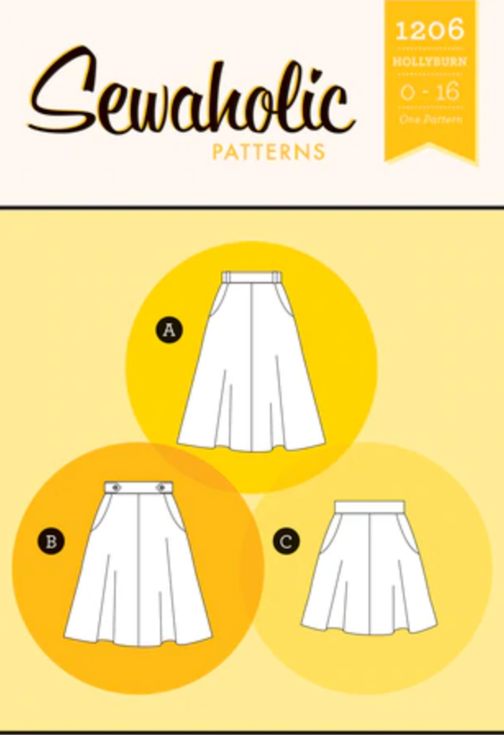 Hollyburn Skirt - Sewaholic