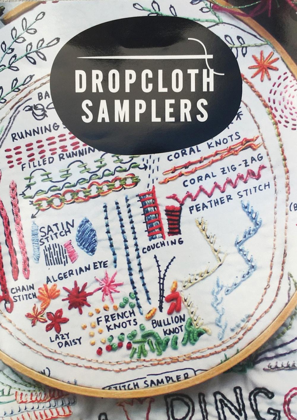 Original Embroidery Sampler - Dropcloth Samplers