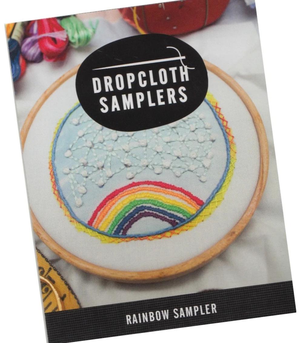 Rainbow - Dropcloth Samplers