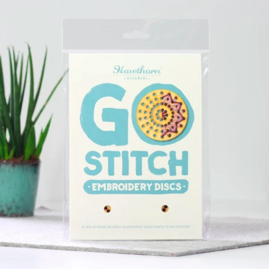 Go Stitch Discs Kit - Hawthorn Handmade