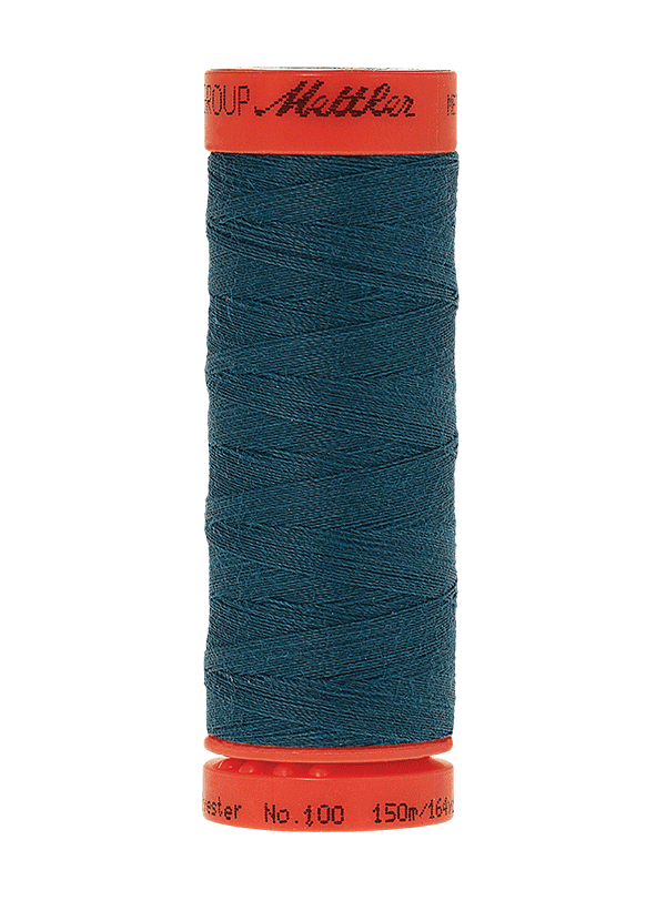 Dark Turquoise #0483 - Mettler Metrosene Thread - 164 Yards