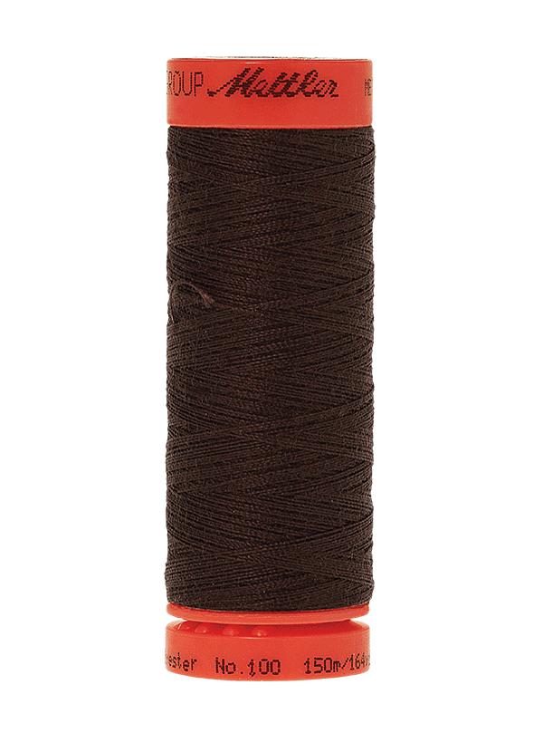 Very Dark Brown #1002 - Mettler Metrosene Thread - 164 Yards