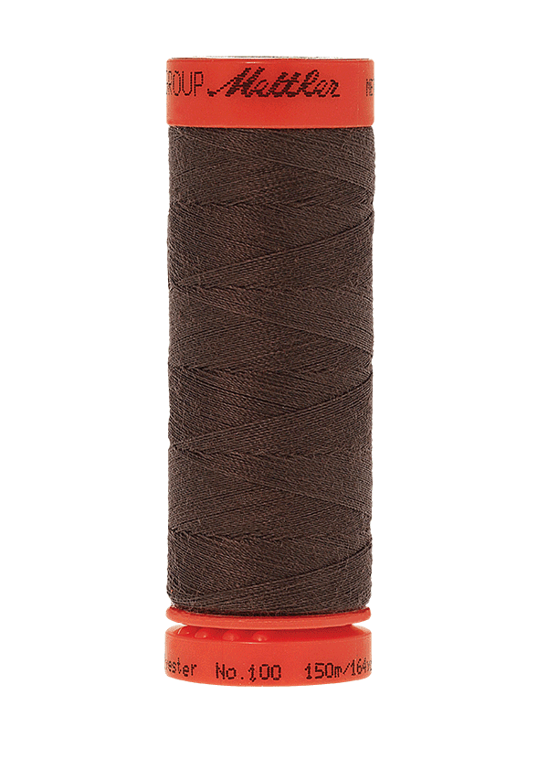 Earthy Brown Coal #0399 - Mettler Metrosene Thread - 164 Yards