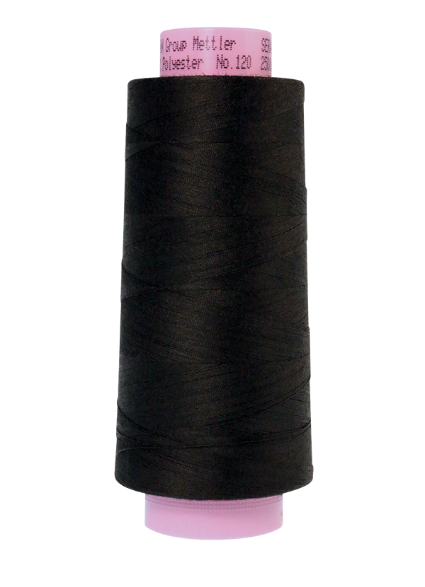 Black #4000 - Serger Thread - Mettler Seracor