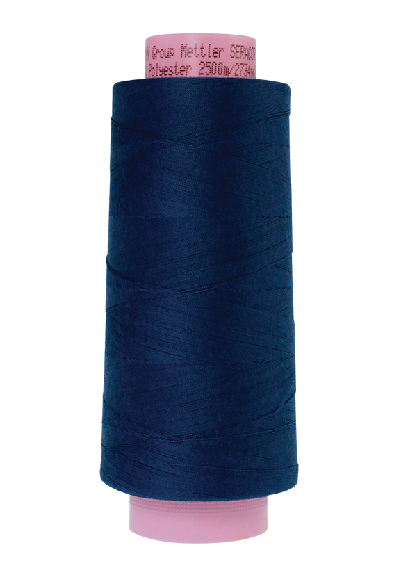 Imperial Blue #1304 - Serger Thread - Mettler Seracor