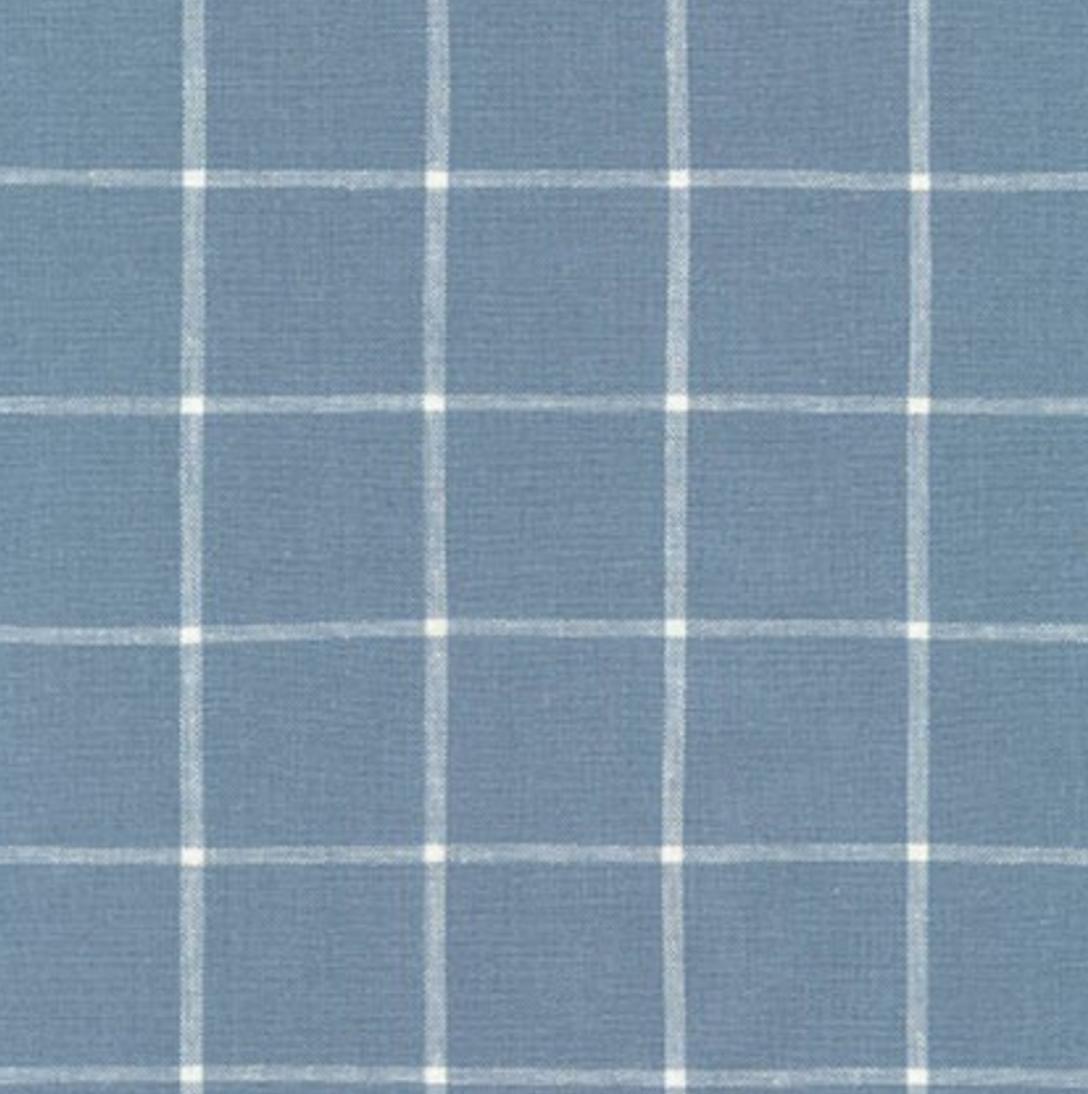 Essex Yarn Dyed Classic Wovens - Chambray Plaid - Robert Kaufman