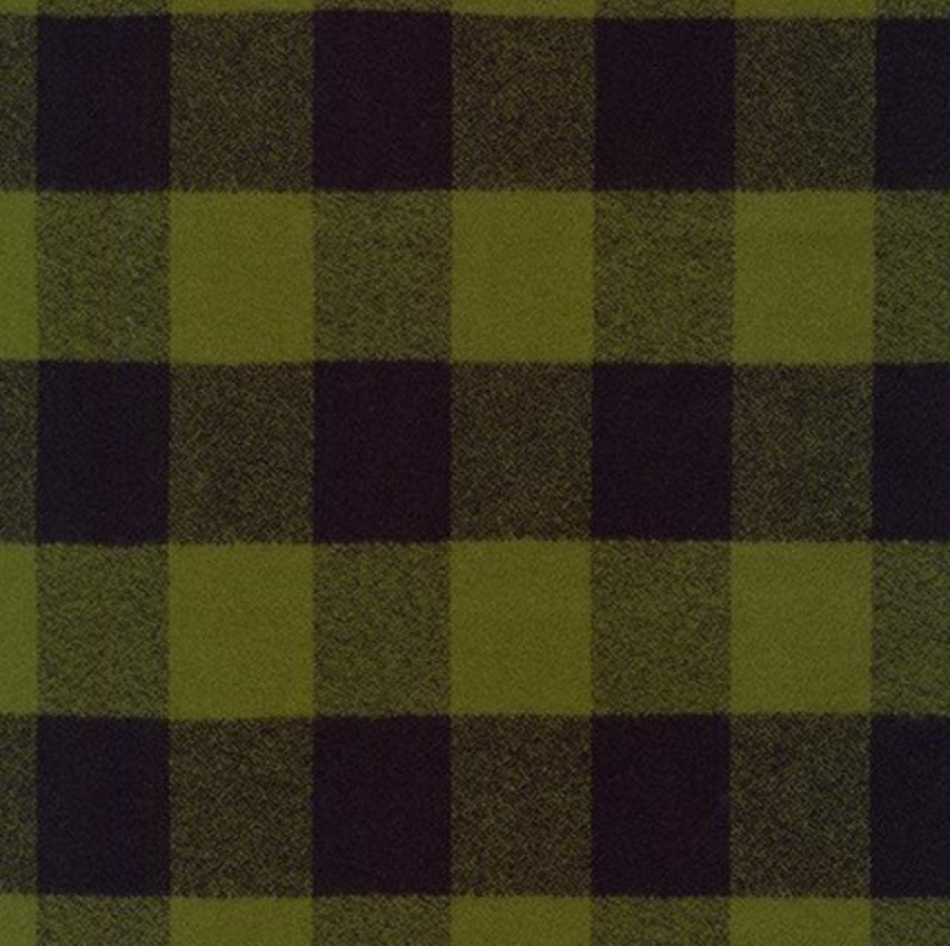 Olive - Mammoth Flannel - Robert Kaufman